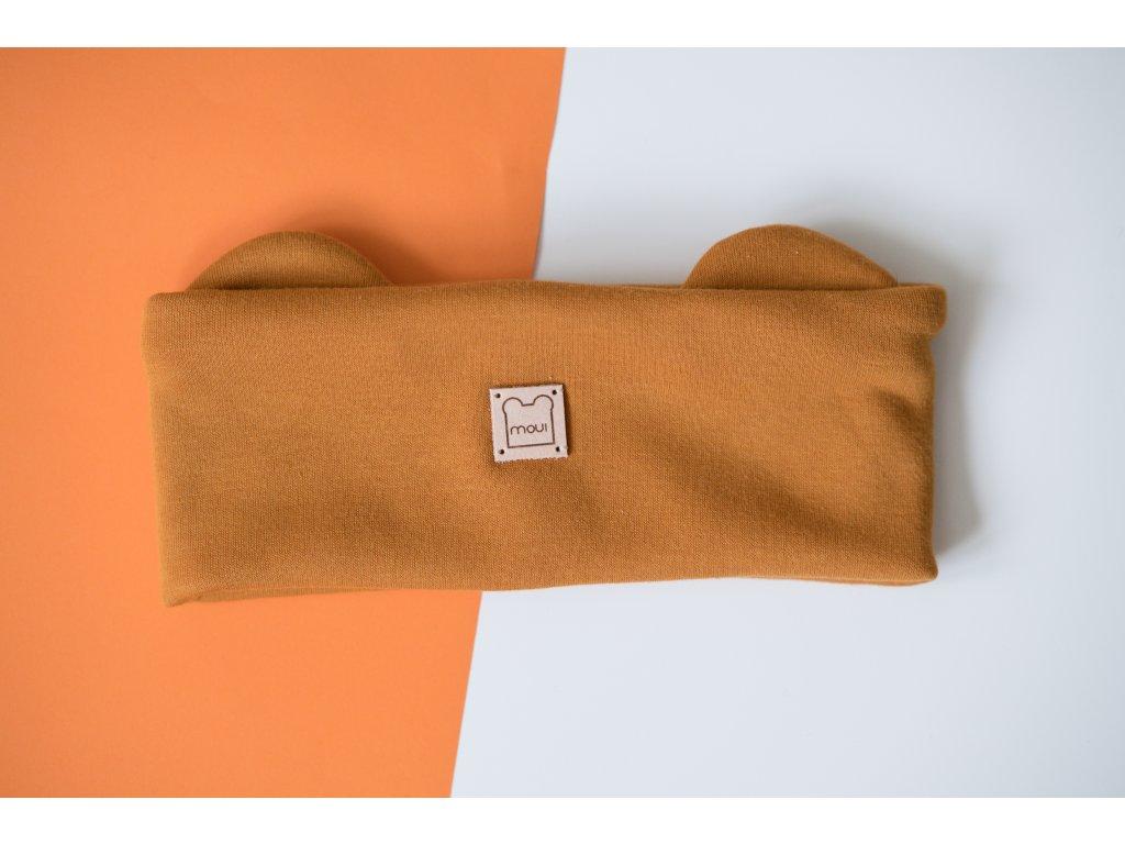 Oranžová čelenka Moui (Warmkeeper)