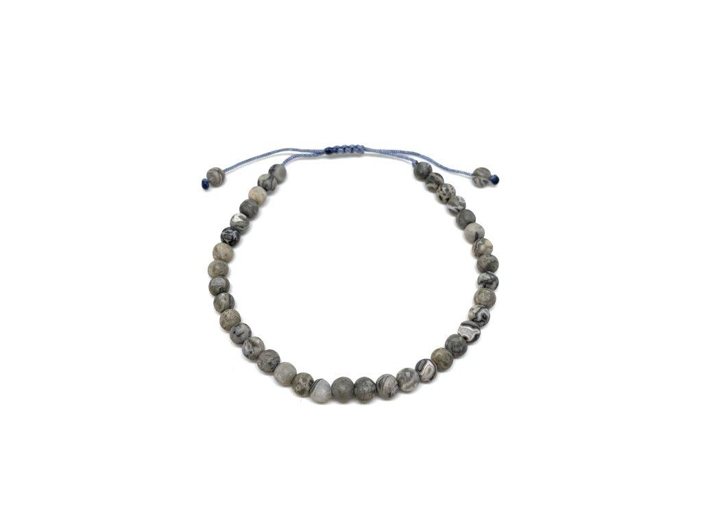 Pánský náramek Jaspis Mou Jewel