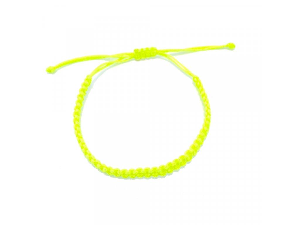 Dámský náramek žlutý neon Mou Jewel