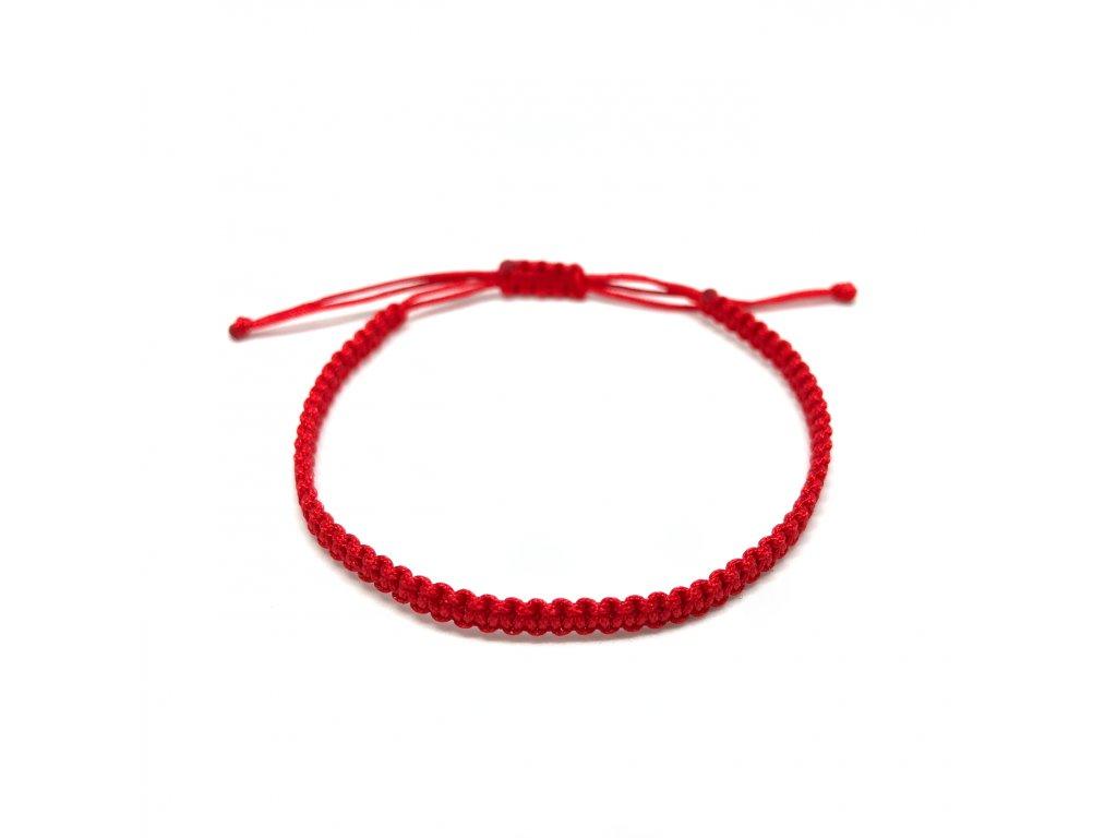 Dámský náramek červený Mou Jewel