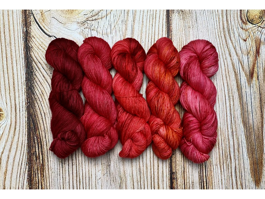 Fade Set 50 Shades of Red
