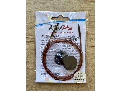 Výměnné lanko Knit Pro 120cm