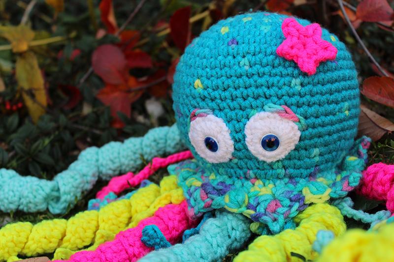 Háčkovaná chobotnička - návod