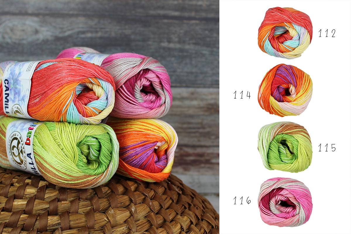 Příze Camilla batik
