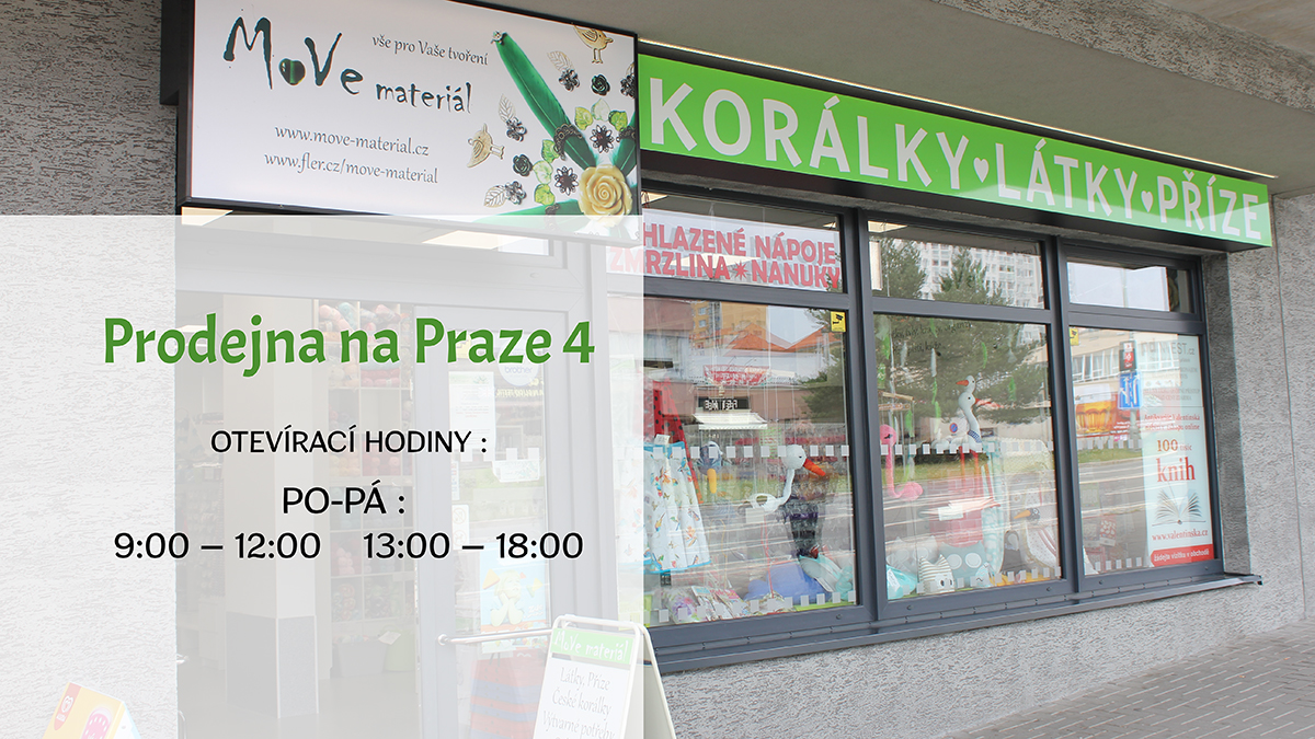 Prodejna Praha 4