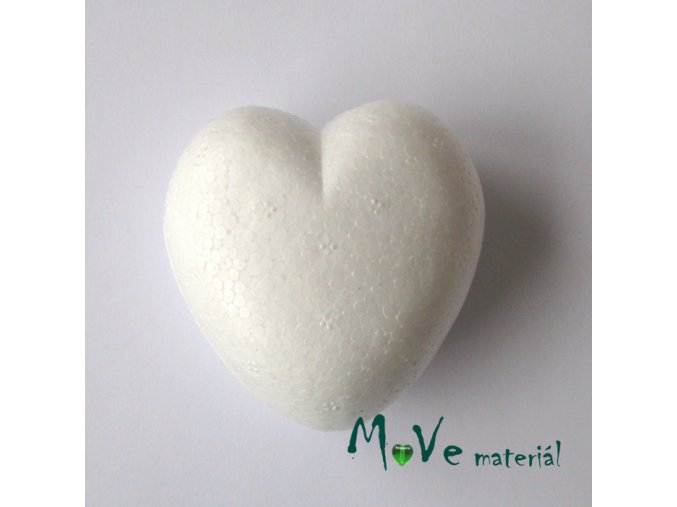 Srdce polystyren 5,5x6x3,5cm