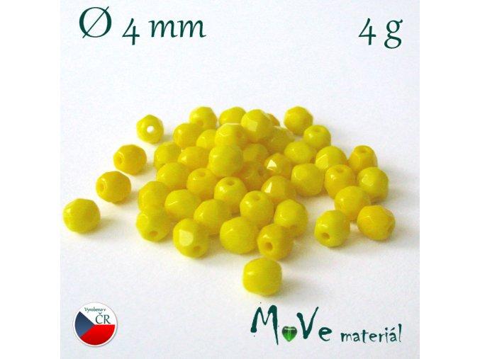 České ohňovky 4mm/4g, žluté