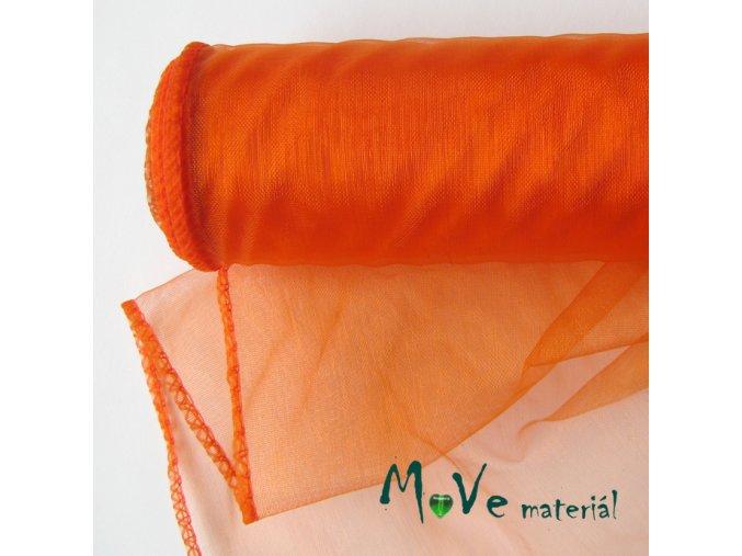 Organza pomerančová š. 36 cm/ 1m