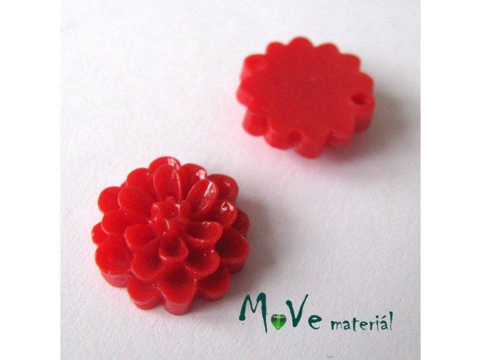 Kabošon resin D1 (mezikus) 2ks, červený