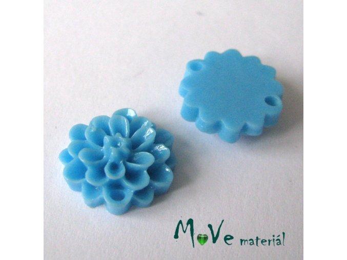 Kabošon resin D1 (mezikus) 2ks, modrý