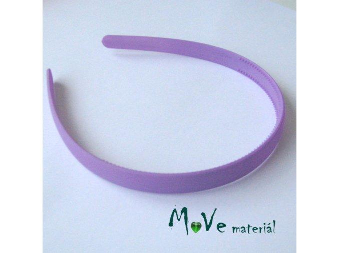 Čelenka jednoduchá plastová 13mm, stř. fialová