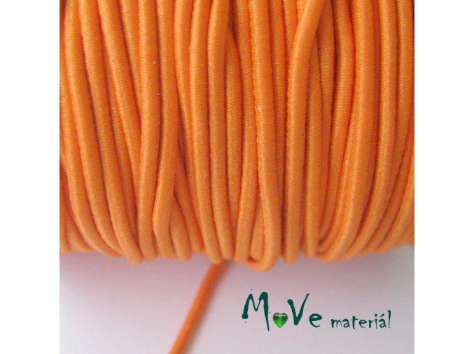 Pruženka kulatá 2mm, 1m, oranžová