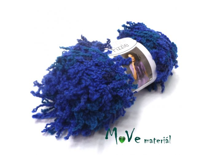Fizzle - modrá, 1ks