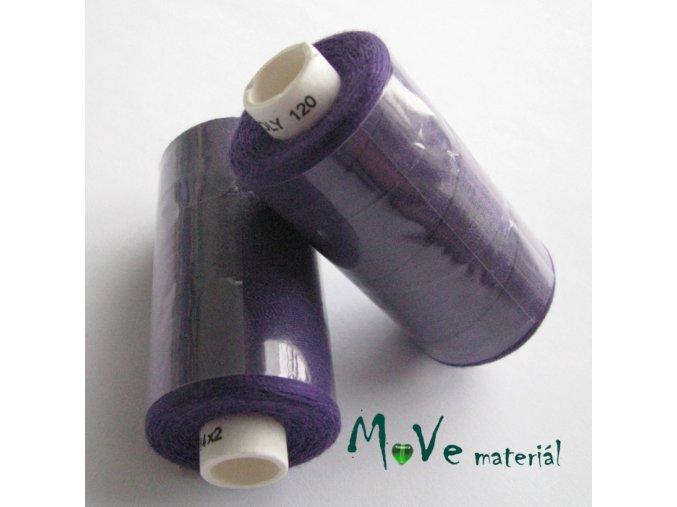Nit Unipol 100%PES 500m fialová