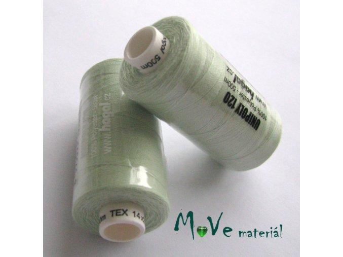 Nit Unipol 100%PES 500m sv. zelená