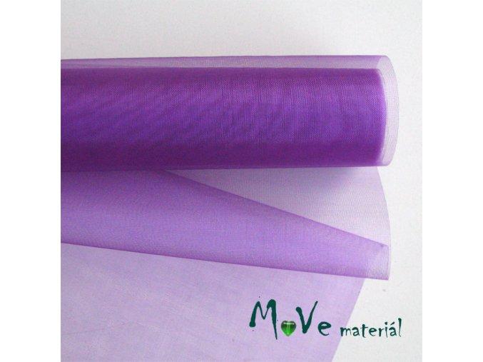 organza fialová š. 37 cm/ 1m