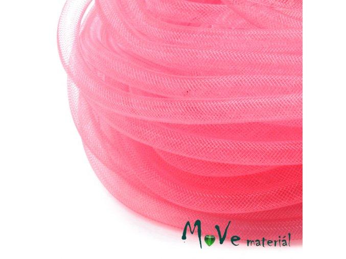 Modistická krinolína dutinka 8mm, 1m, růžová