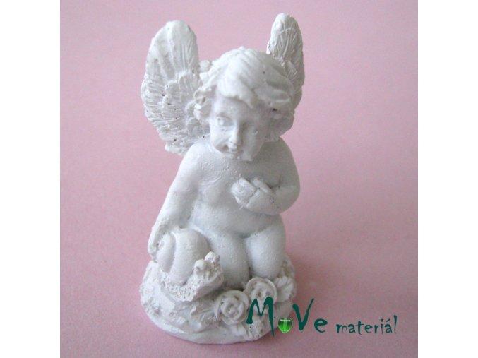Andělíček se šnekem - dekorace