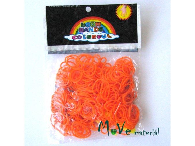 Sada gumiček, pomerančová