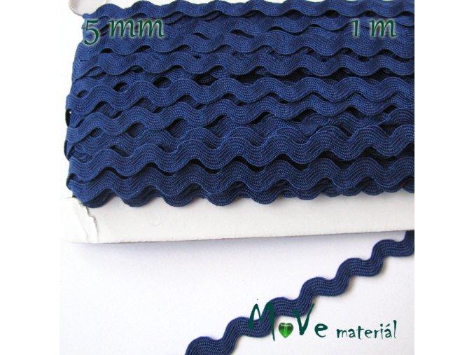 Hadovka námořnicky modrá 9mm, 1m