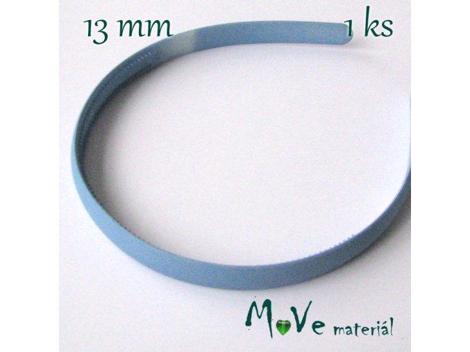 Čelenka jednoduchá plastová 13mm, šmolková