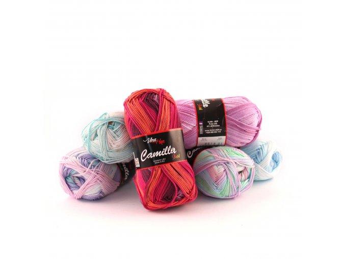 Příze Camilla Batik - bavlna