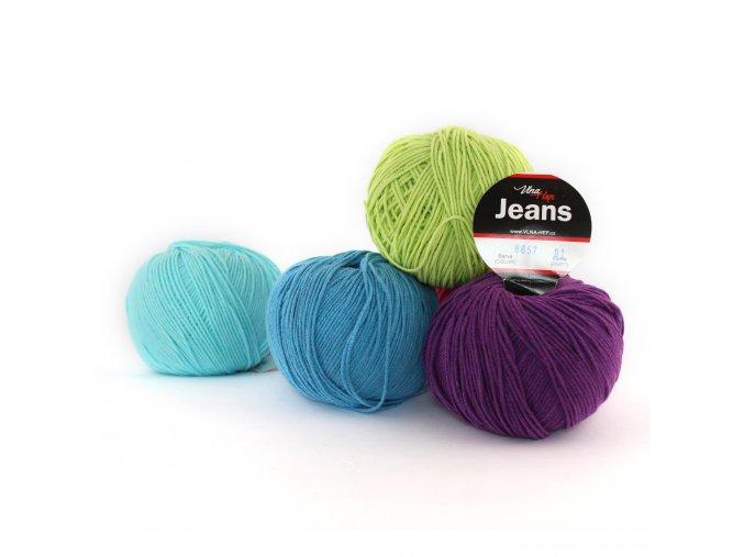 Příze Jeans - bavlna+akryl