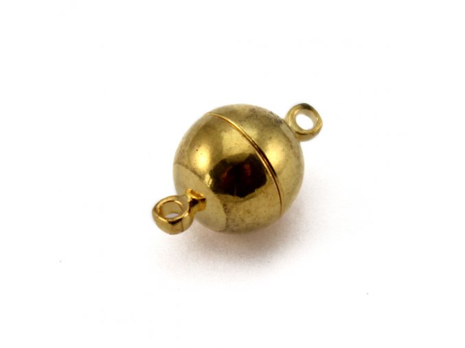 Magnetické zapínání 10x15mm - 1ks - barvy zlaté
