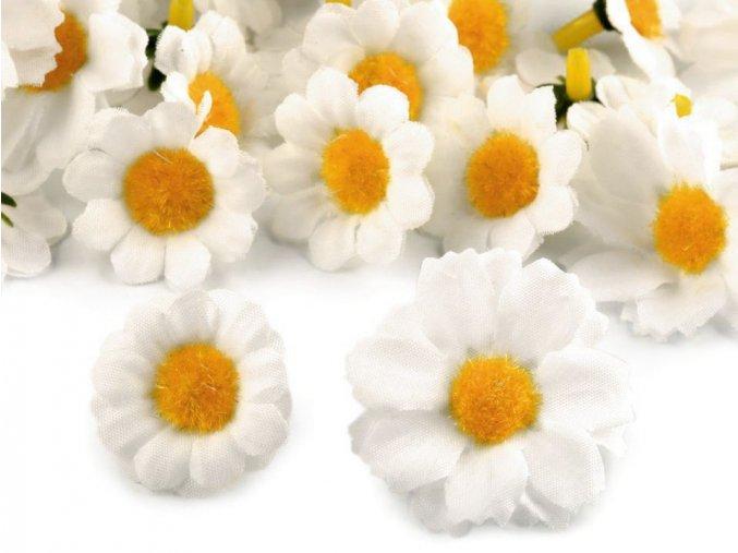 Umělý květ kopretina - různé velikosti