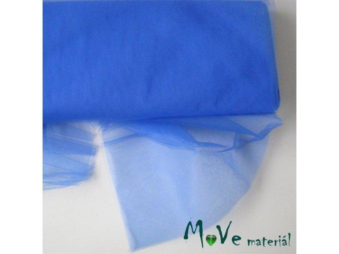svatební tyl jemný středně modrý 50 cm/ š280 cm