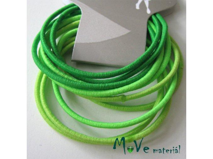 Sada kulatých gumiček na úpravu zelená, 10ks