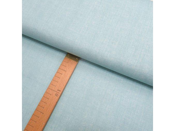 Bavlněné plátno - Lněná půda mátovo-šedá - šíře 150cm/1bm