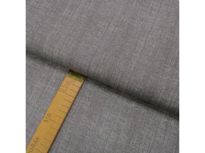 Bavlněné plátno - Lněná půda šedá - šíře 150cm/1bm
