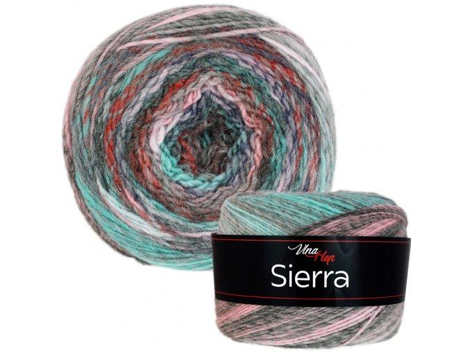 Příze Sierra - vlna + akryl