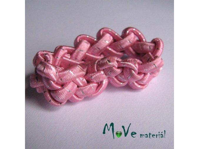 Gumička copánek na úpravu růžová 1ks