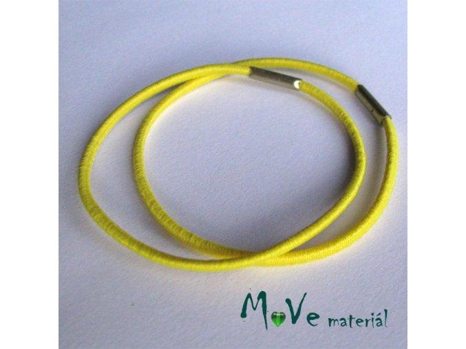 Sada kulatých gumiček na úpravu žlutá 4ks