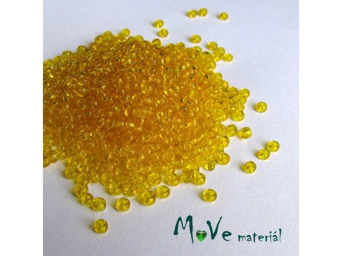 Český rokajl žlutý cca 3mm 20 g