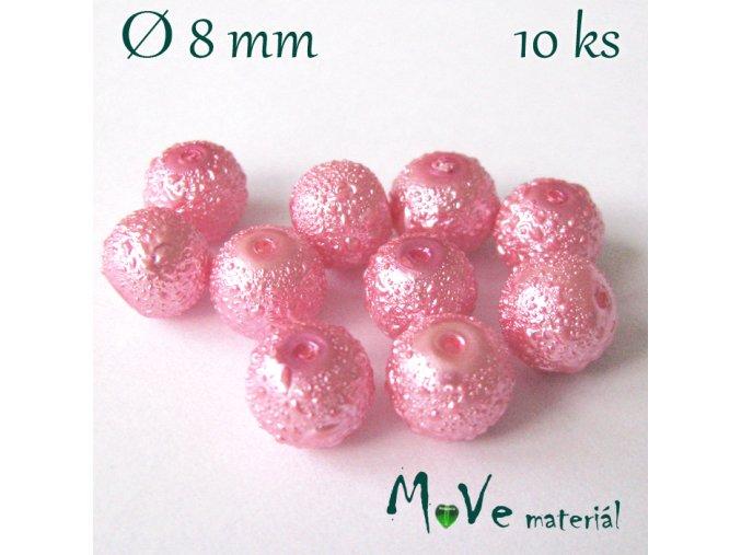 """Voskové perle """"Zigana"""" 8mm, 10ks"""