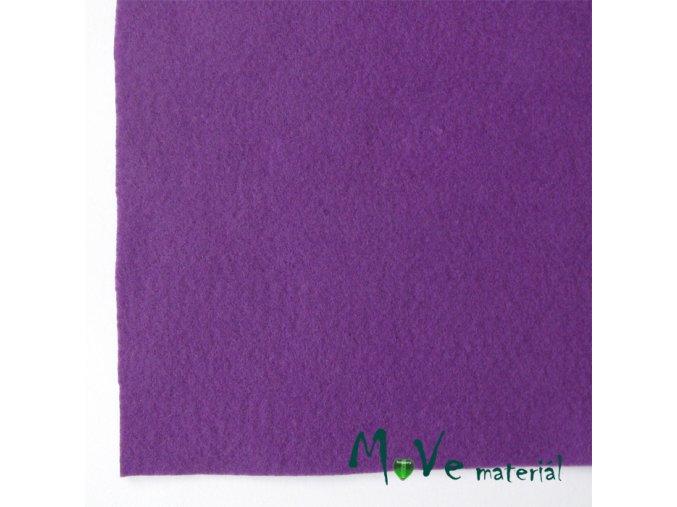 Plsť (filc) 20x30cm, 1ks, fialová