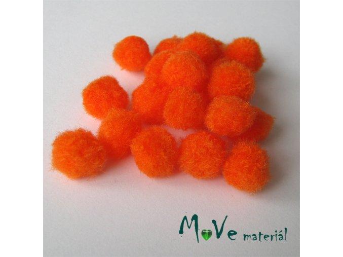 Bambulka 10-13mm 20 ks tmavě oranžová