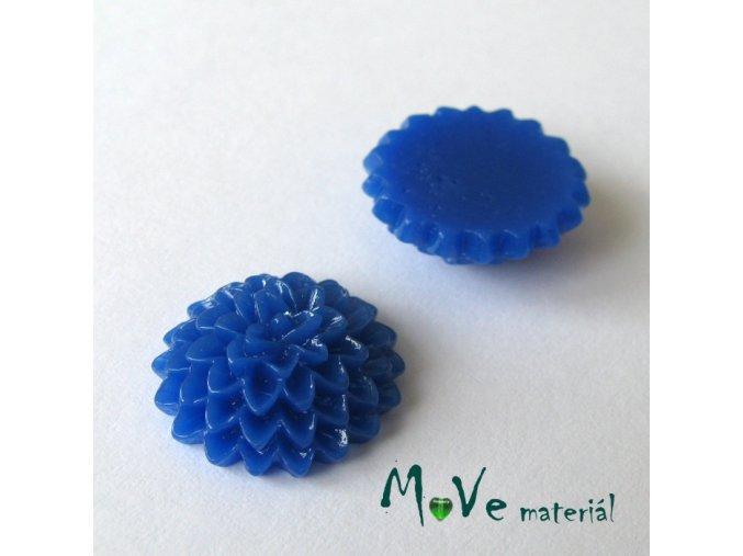 Kabošon B6 astra - resin - 2ks, tmavě modrý