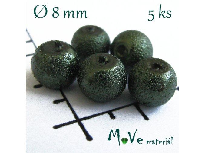 """Voskové perle """"Zigana"""" 8mm, 5ks"""