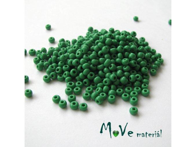 Český rokajl zelený cca 3-3,5mm 20 g