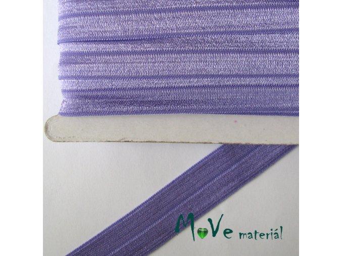 Pruženka lemovací šíře 20mm, 1m, fialová