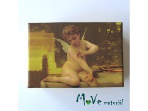 Krabička papírová - anděl 120,2x82x57mm