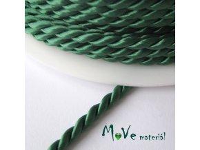 Kroucená šňůra 3,5mm /1m, zelená