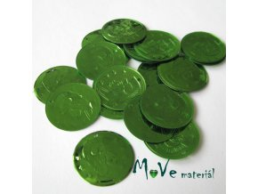 """Plastový penízek """"Centurion"""" 18x22mm/20ks, zelený"""