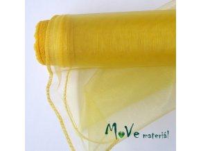 Organza žlutá š. 36 cm/ 1m