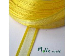 Stuha monofilová 10mm/1m, žlutá