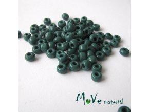 Český rokajl zelený cca 6,5-7mm 20 g